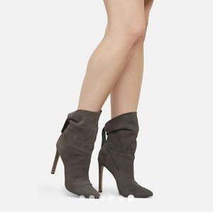 New Kenneth Cole Riley 110 Suede Slouch Booties